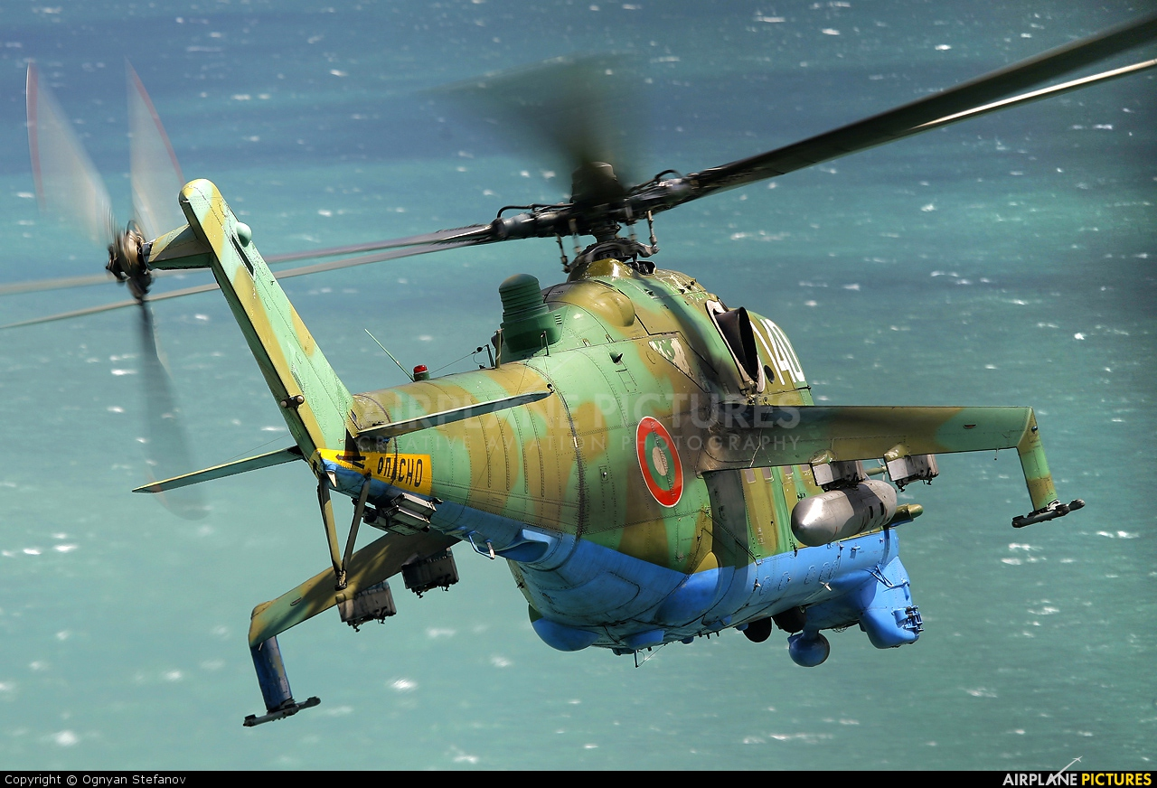 Bulgaria - Air Force 140 aircraft at Off Airport - Bulgaria