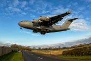 ZZ177 - Royal Air Force Boeing C-17A Globemaster III aircraft