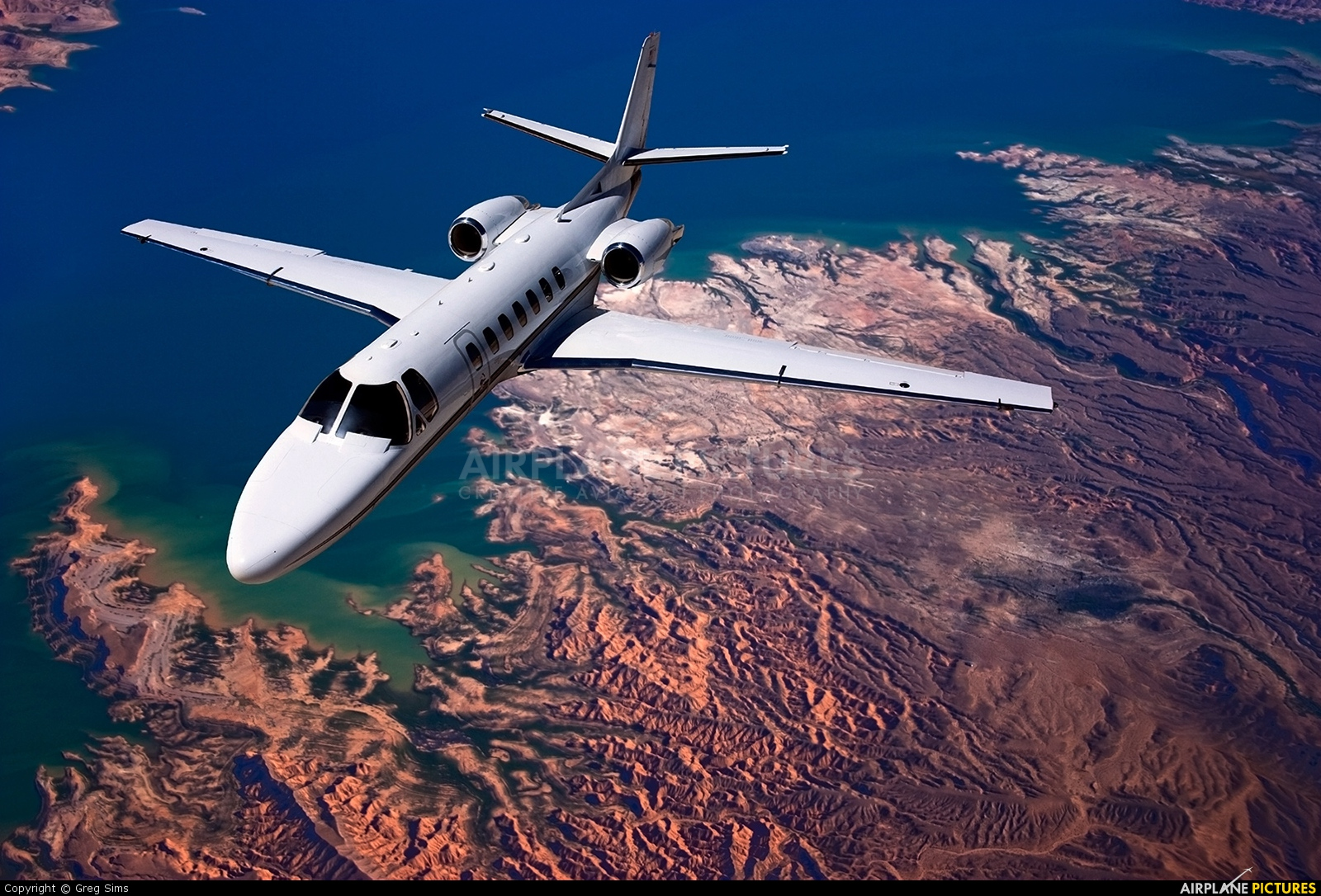 Private - aircraft at In Flight - Nevada