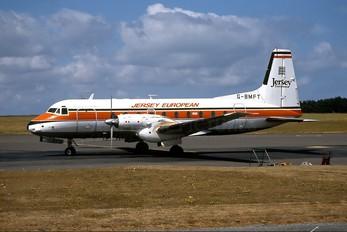G-BMFT - Jersey European Hawker Siddeley HS.748