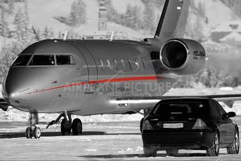 OE-INH - Vistajet Canadair CL-600 Challenger 605
