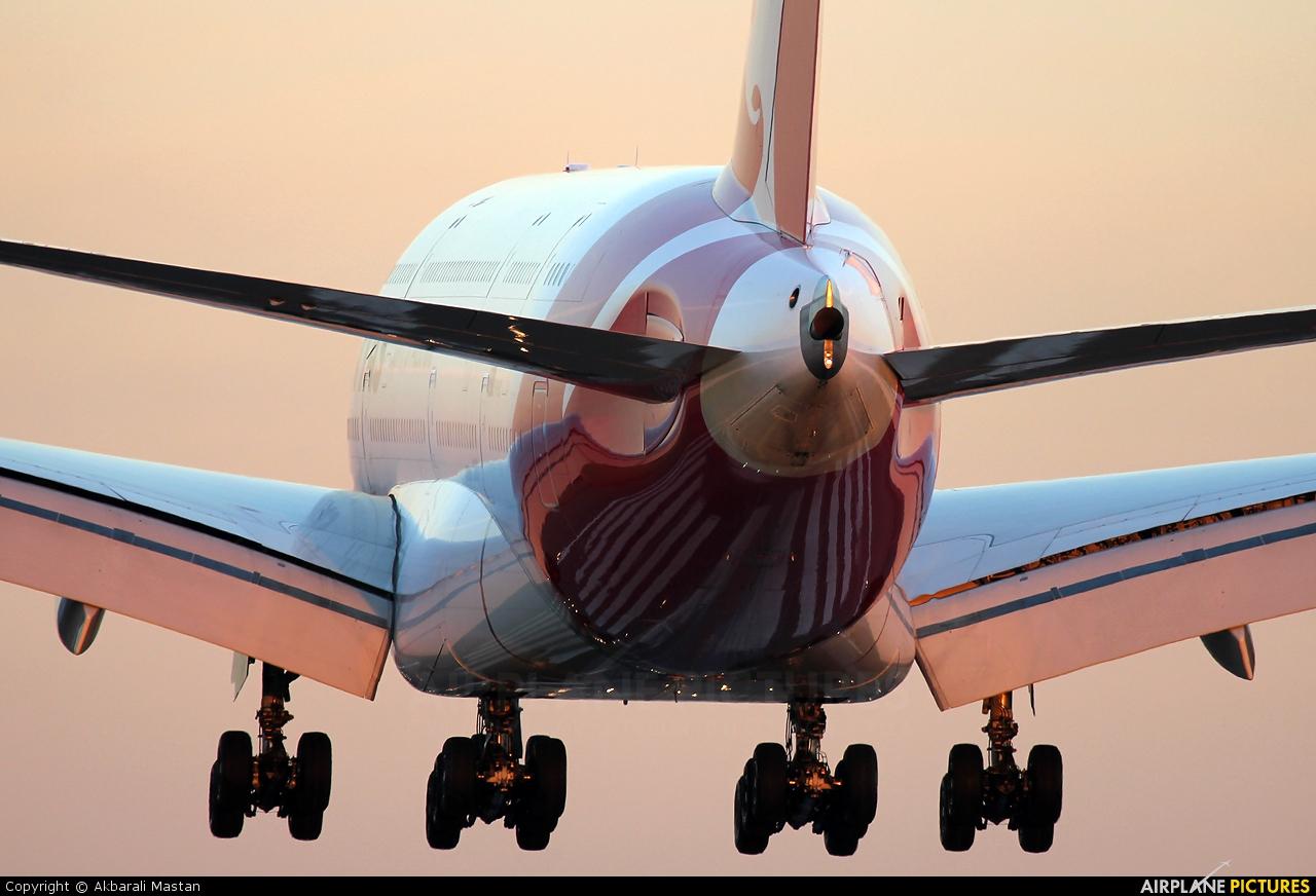 QANTAS VH-OQC aircraft at London - Heathrow