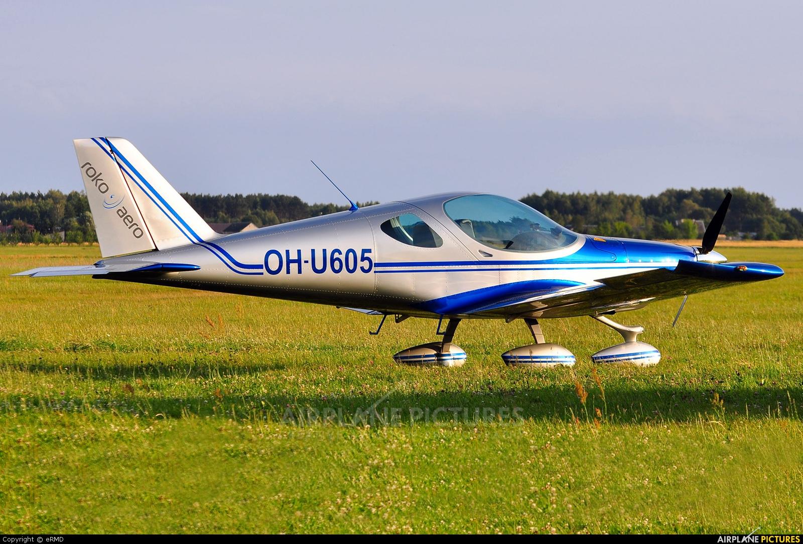 Private OH-U605 aircraft at Radom - Piastów