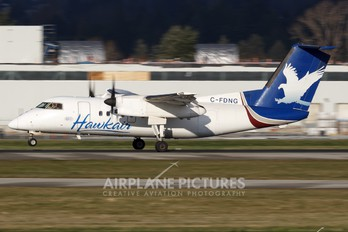 C-FDNG - Hawkair de Havilland Canada DHC-8-100 Dash 8