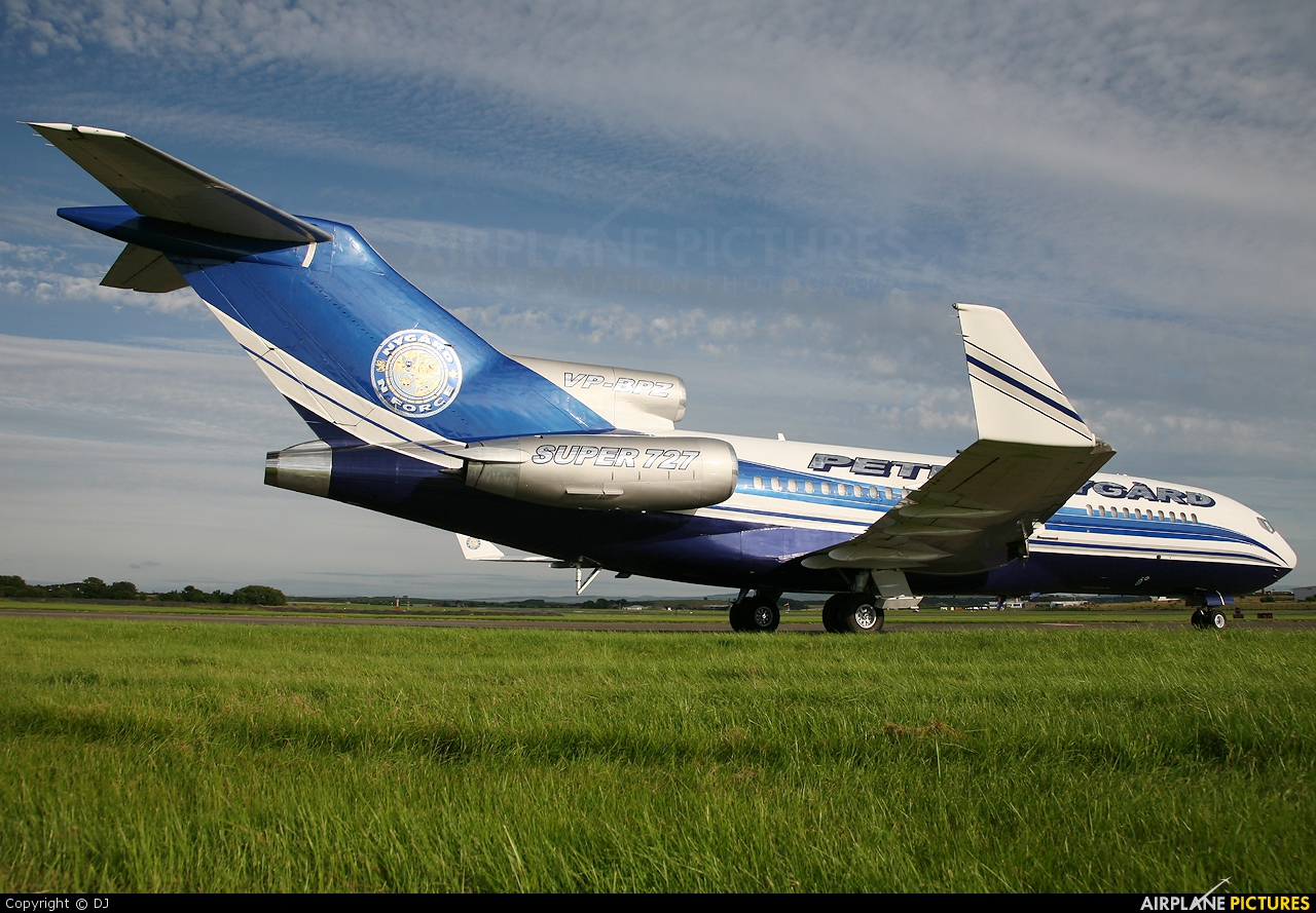 Private VP-BPZ aircraft at Prestwick