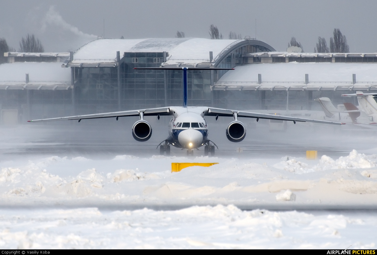 Polet Flight RA-61710 aircraft at Kyiv - Zhulyany
