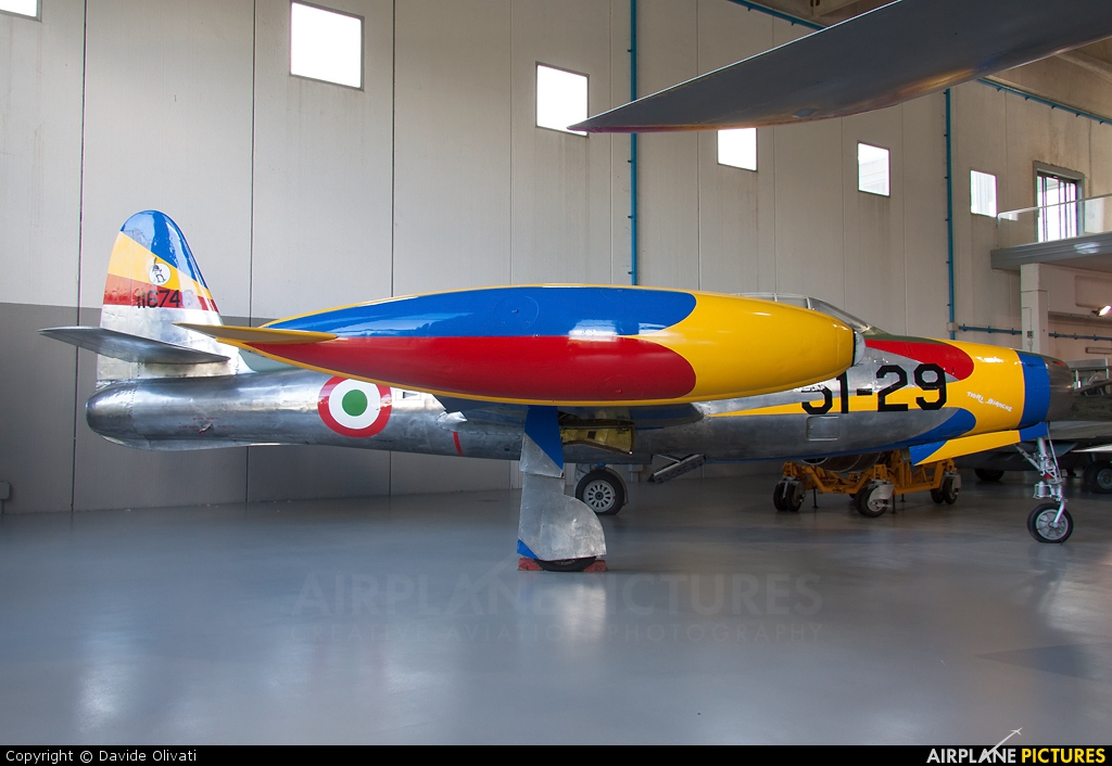 Italy - Air Force MM51-11049 aircraft at Vigna di Valle - Italian AF Museum