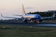 N801SY - Sun Country Airlines Boeing 737-800 aircraft