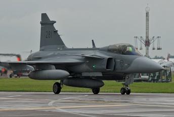 39281 - Sweden - Air Force SAAB JAS 39C Gripen