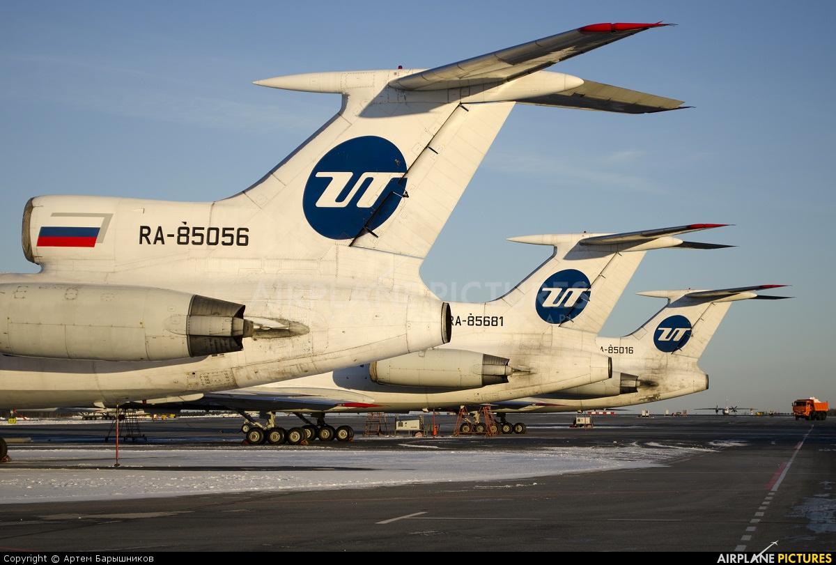 UTair RA-85056 aircraft at Tyumen-Roschino
