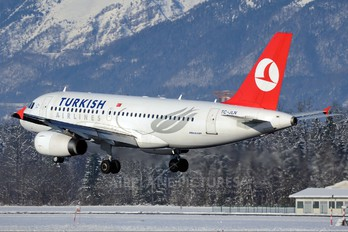 TC-JLN - Turkish Airlines Airbus A319