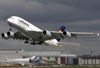 F-WWSH - Lufthansa Airbus A380