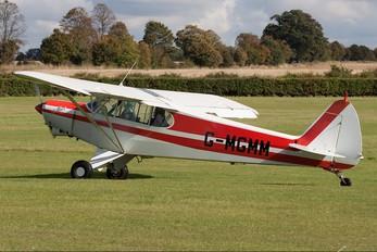 G-MGMM - Private Piper PA-18 Super Cub