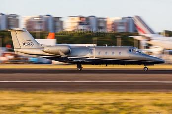 N5QG - Private Learjet 55