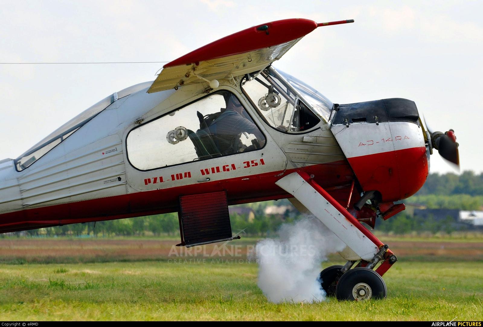 Aeroklub Polski SP-WEC aircraft at Radom - Piastów