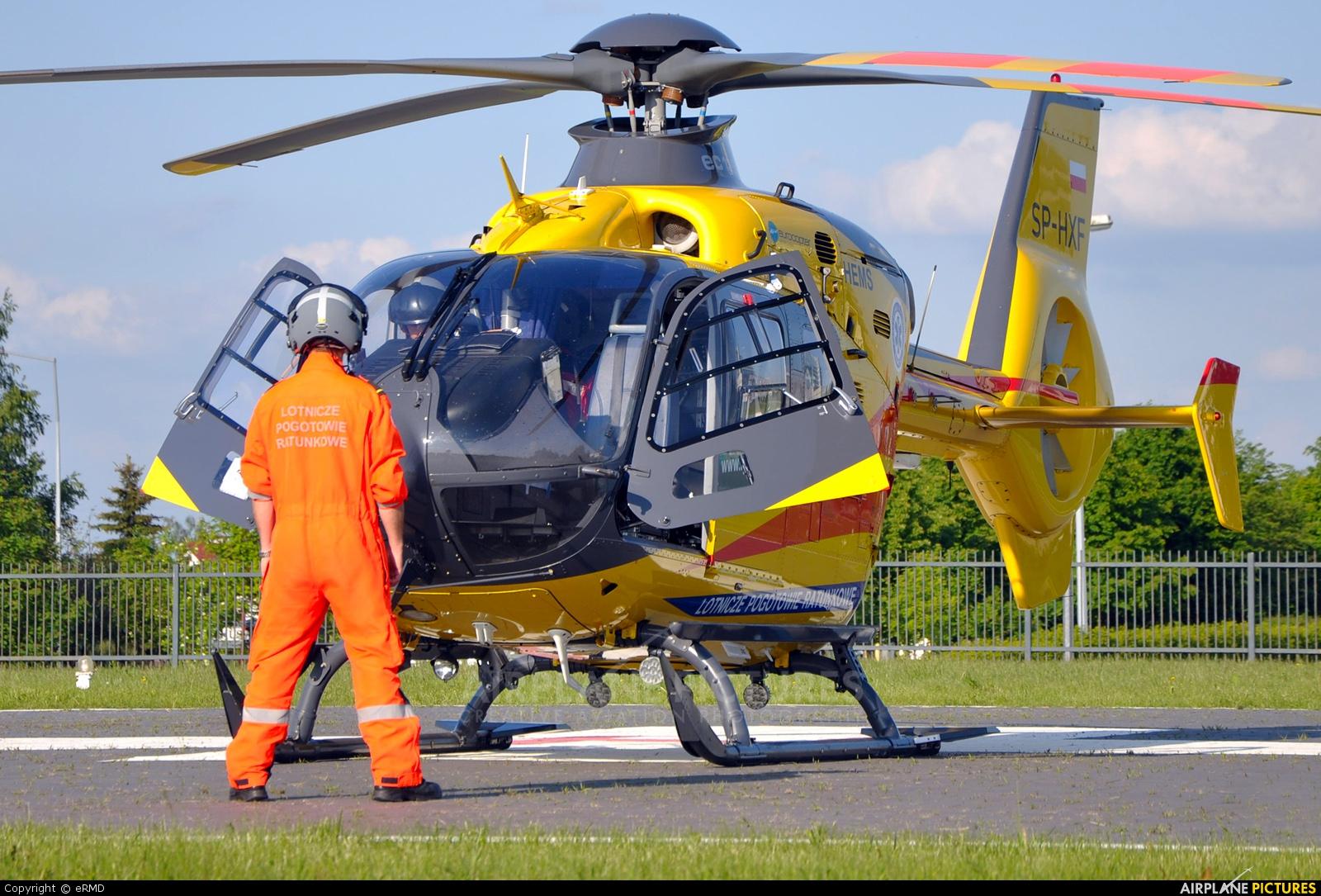 Polish Medical Air Rescue - Lotnicze Pogotowie Ratunkowe SP-HXF aircraft at Radom - Piastów