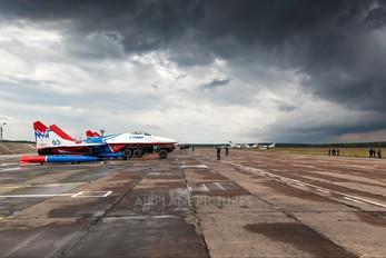 "- - Russia - Air Force ""Strizhi"" Mikoyan-Gurevich MiG-29A"