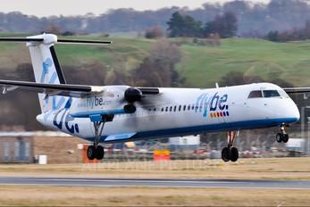 G-JEDU - Flybe de Havilland Canada DHC-8-400Q / Bombardier Q400