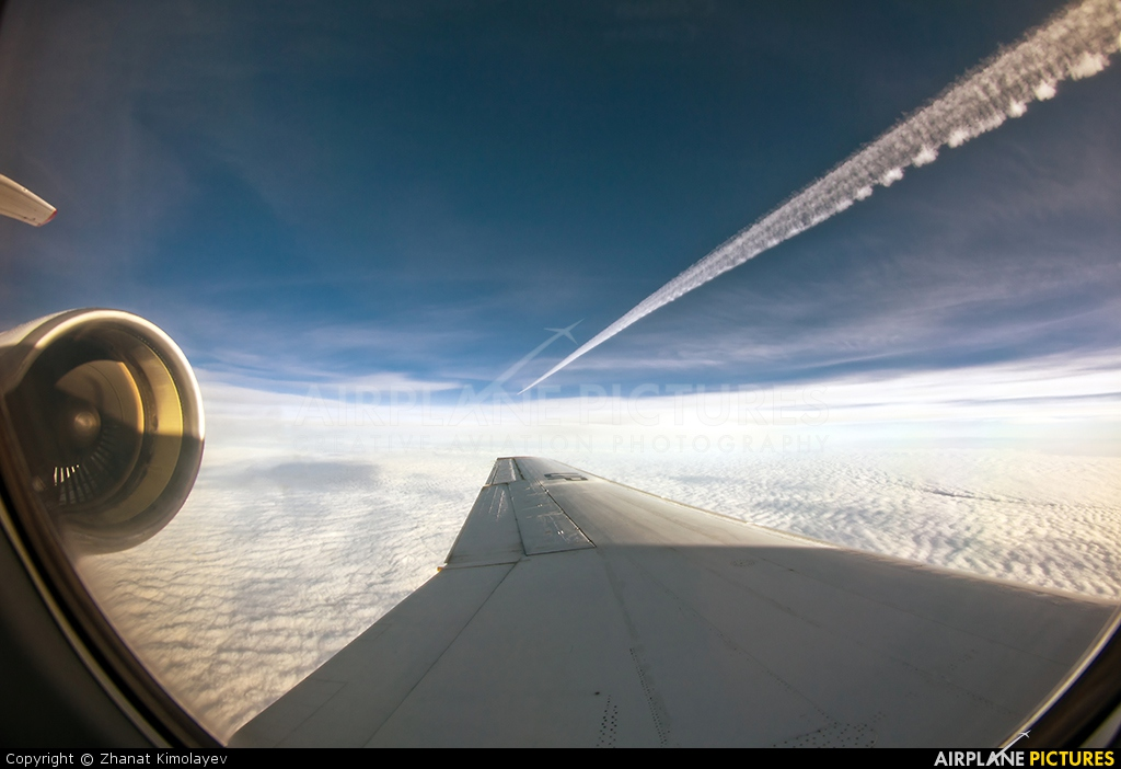 SCAT Airlines UP-Y4203 aircraft at In Flight - Kazakhstan