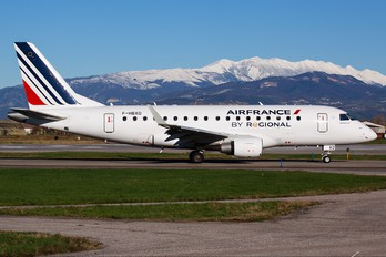 F-HBXO - Air France - Regional Embraer ERJ-170 (170-100)