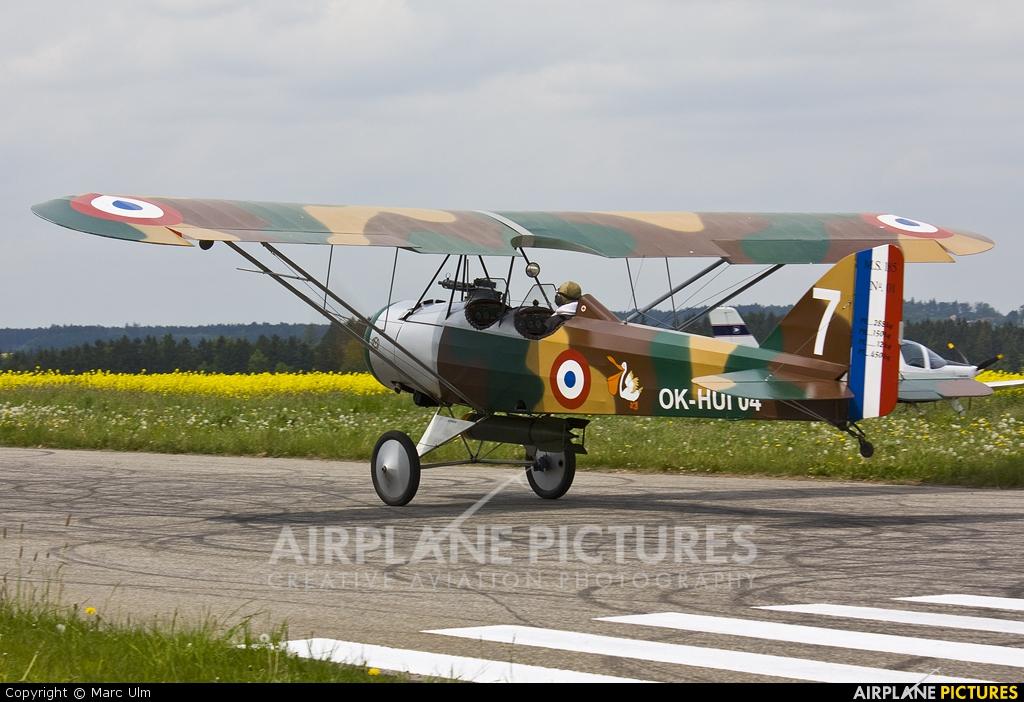 Private OK-HUI04 aircraft at Částkovice
