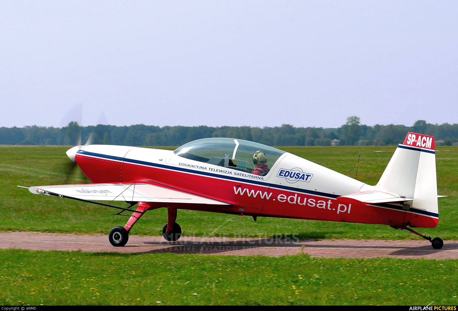 Private SP-ACM aircraft at Radom - Piastów
