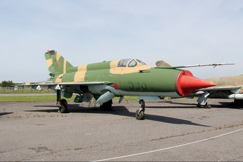 596 - Germany - Democratic Republic Air Force Mikoyan-Gurevich MiG-21M