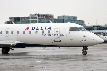 N835AY - Delta Connection - Pinnacle Airlines Canadair CL-600 CRJ-200