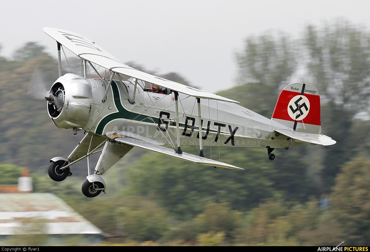 Private G-BUTX aircraft at Brighton - Shoreham