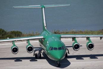 SX-DIX - Astra Airlines British Aerospace BAe 146-300/Avro RJ100
