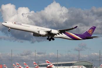 HS-TNA - Thai Airways Airbus A340-600
