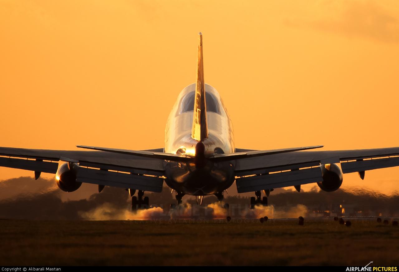 British Airways G-BNLU aircraft at London - Heathrow