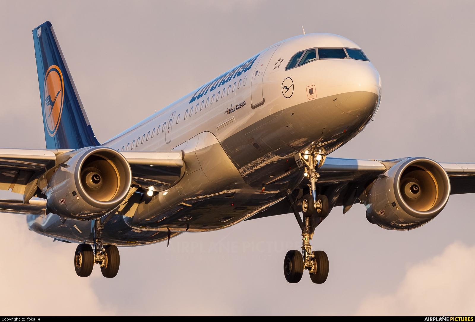 Lufthansa D-AIBH aircraft at Frankfurt