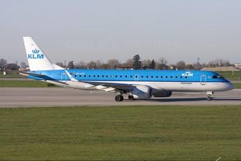 PH-EZF - KLM Cityhopper Embraer ERJ-190 (190-100)