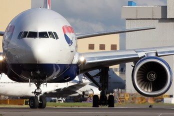 G-YMMR - British Airways Boeing 777-200