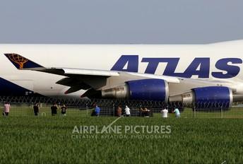 N419MC - Atlas Air Boeing 747-400F, ERF