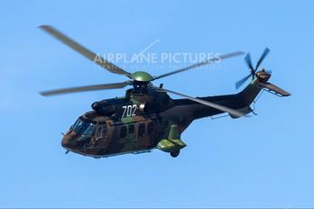 702 - Bulgaria - Air Force Aerospatiale AS532 Cougar