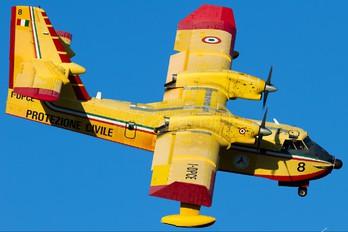 I-DPCE - Italy - Protezione civile Canadair CL-415 (all marks)