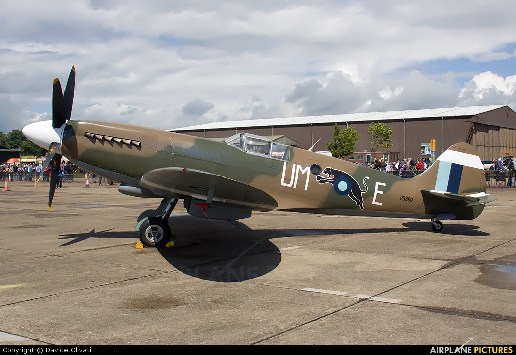 Private F-AZJS aircraft at Duxford