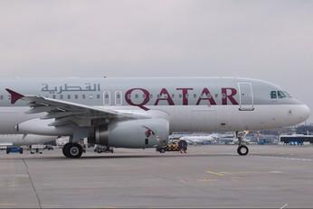 A7-AHS - Qatar Airways Airbus A320