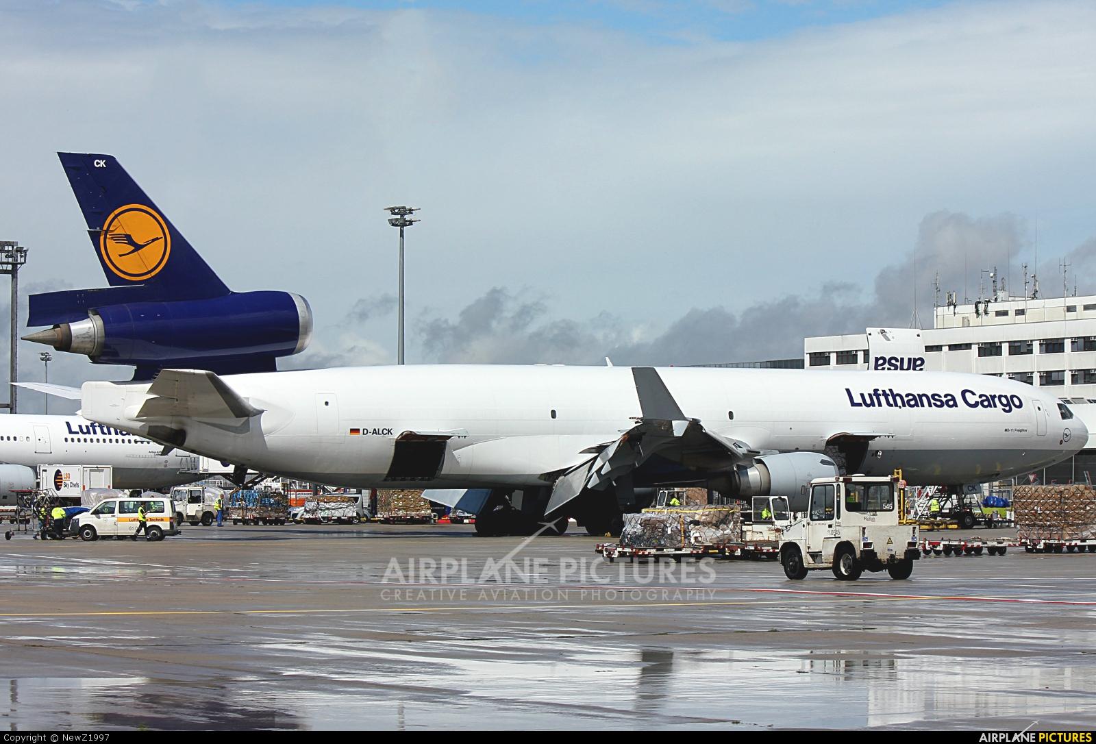 Lufthansa Cargo D-ALCK aircraft at Frankfurt