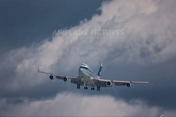 B-HKV - Cathay Pacific Boeing 747-400