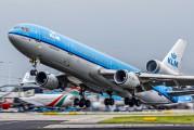 PH-KCF - KLM McDonnell Douglas MD-11 aircraft