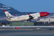 LN-DYR - Norwegian Air Shuttle Boeing 737-800 aircraft