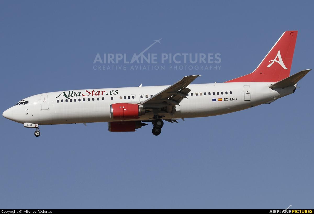 AlbaStar EC-LNC aircraft at Barcelona - El Prat