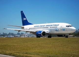 LV-AYE - Aerolineas Argentinas Boeing 737-500