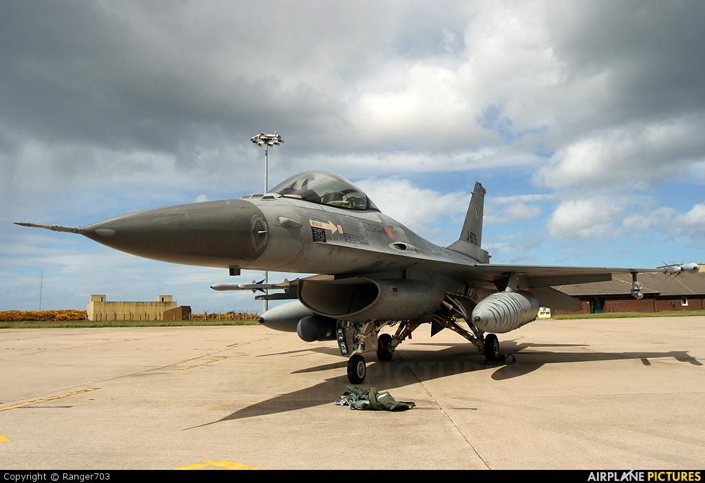 Netherlands - Air Force J-879 aircraft at Kinloss