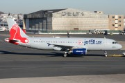Special JetBlue Livery in Boston Red Sox colors title=