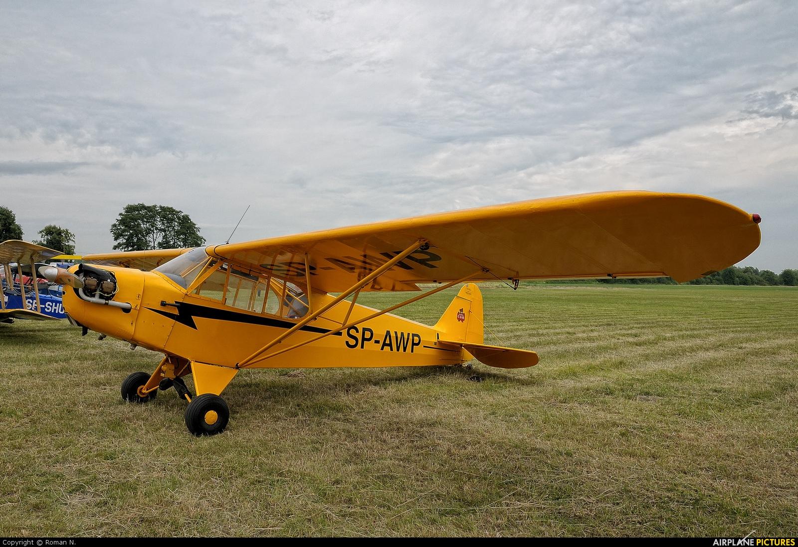 Private SP-AWP aircraft at Płock