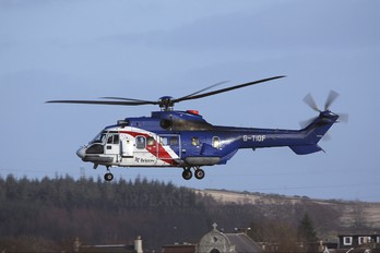 G-TIGF - Bristow Helicopters Aerospatiale AS332 Super Puma L (and later models)